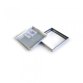Люк напольный Практика Барьер 40-40 со съемной крышкой