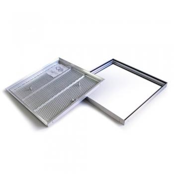 Люк напольный Практика Барьер 70-70 со съемной крышкой
