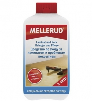 Средство для ухода за пробковым полом и ламинатом Mellerud 1 литр