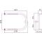 Полотенцесушитель водяной Стилье П-образный 2П 320х450