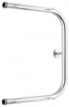 Полотенцесушитель водяной Стилье П-образный 2П 500х400 резьба-cгон 1