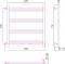 Полотенцесушитель водяной Стилье Версия-Б1 600х600
