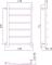 Полотенцесушитель водяной Стилье Версия-Б2 600х400 00612-6040