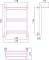 Полотенцесушитель водяной Стилье Версия-Н1 600х400