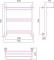 Полотенцесушитель водяной Стилье Версия-Н1 600х500 00621-6050