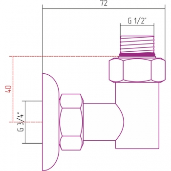 Набор комплектующих Стилье для ПС G 1/2