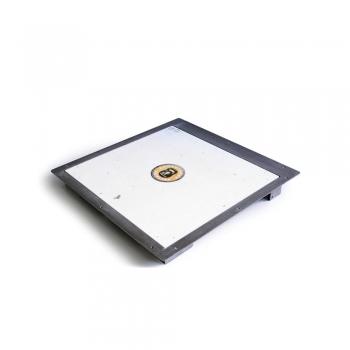 Люк напольный Практика Портал 90-90 с газовыми пружинами