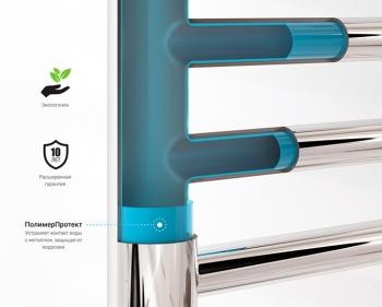 Полотенцесушитель водяной Сунержа Галант+ 800х600 с защитой
