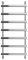 Полотенцесушитель водяной Сунержа Атлант 1200х500 с защитой