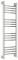 Полотенцесушитель водяной Сунержа Богема+ прямая 1000х300 с защитой