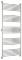 Полотенцесушитель водяной Сунержа Богема+ прямая 1900х800 с защитой