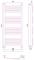 Полотенцесушитель водяной Сунержа Богема+ выгнутая 1200х500 с защитой