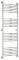 Полотенцесушитель водяной Сунержа Богема+ выгнутая 1500х500 с защитой