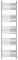 Полотенцесушитель водяной Сунержа Богема+ прямая 1900х500 с защитой