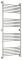 Полотенцесушитель водяной Сунержа Богема+ прямая 1500х600 с защитой