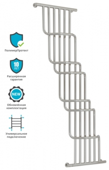 Полотенцесушитель водяной Сунержа Нега 1700х1000 с защитой