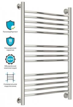 Полотенцесушитель водяной Сунержа Флюид+ 800х500 с защитой