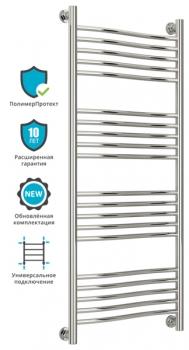 Полотенцесушитель водяной Сунержа Флюид+ 1200х500 с защитой