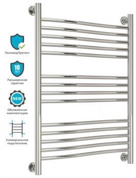 Полотенцесушитель водяной Сунержа Флюид+ 800х600 с защитой