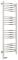 Полотенцесушитель электрический Сунержа Богема 2.0 выгнутая 1200х400