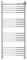 Полотенцесушитель водяной Сунержа Богема с полкой+ 1200х500 с защитой
