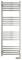 Полотенцесушитель электрический Сунержа Модус 2.0 1200х400