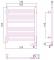 Полотенцесушитель электрический Сунержа Модус 2.0 600х500
