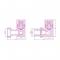 Вентиль 3D правый Сунержа под шестигранник G 1/2