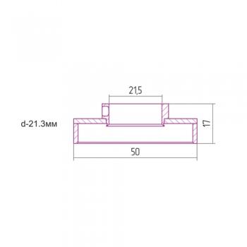 Отражатель Сунержа TUBE d 21,3 мм