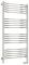 Полотенцесушитель электрический Сунержа Флюид 2.0 1200х600